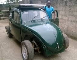 The Wind and Solar Powered Car (Made In Nigeria) 1